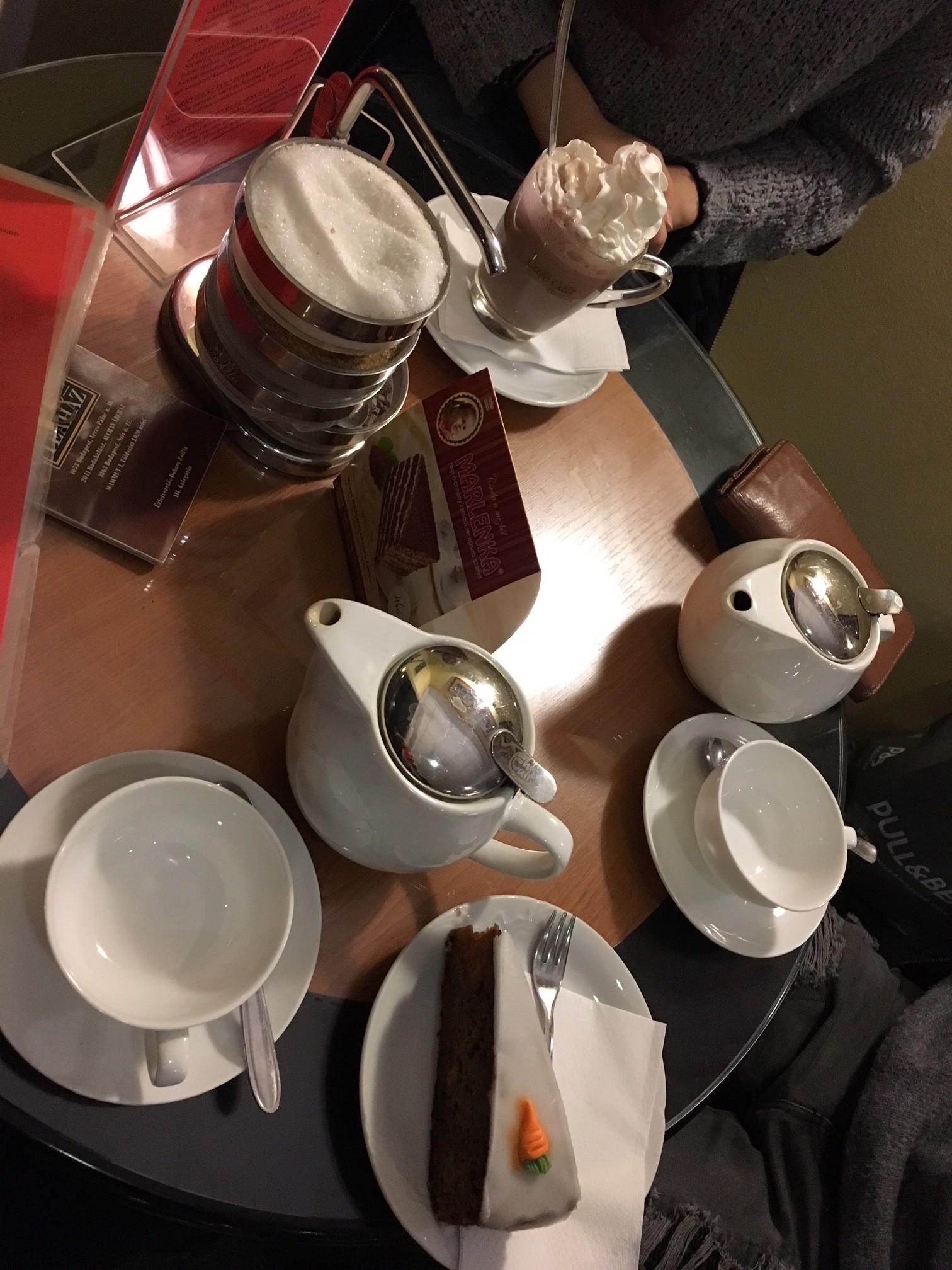 Cafe hopping: Big Ben tea house