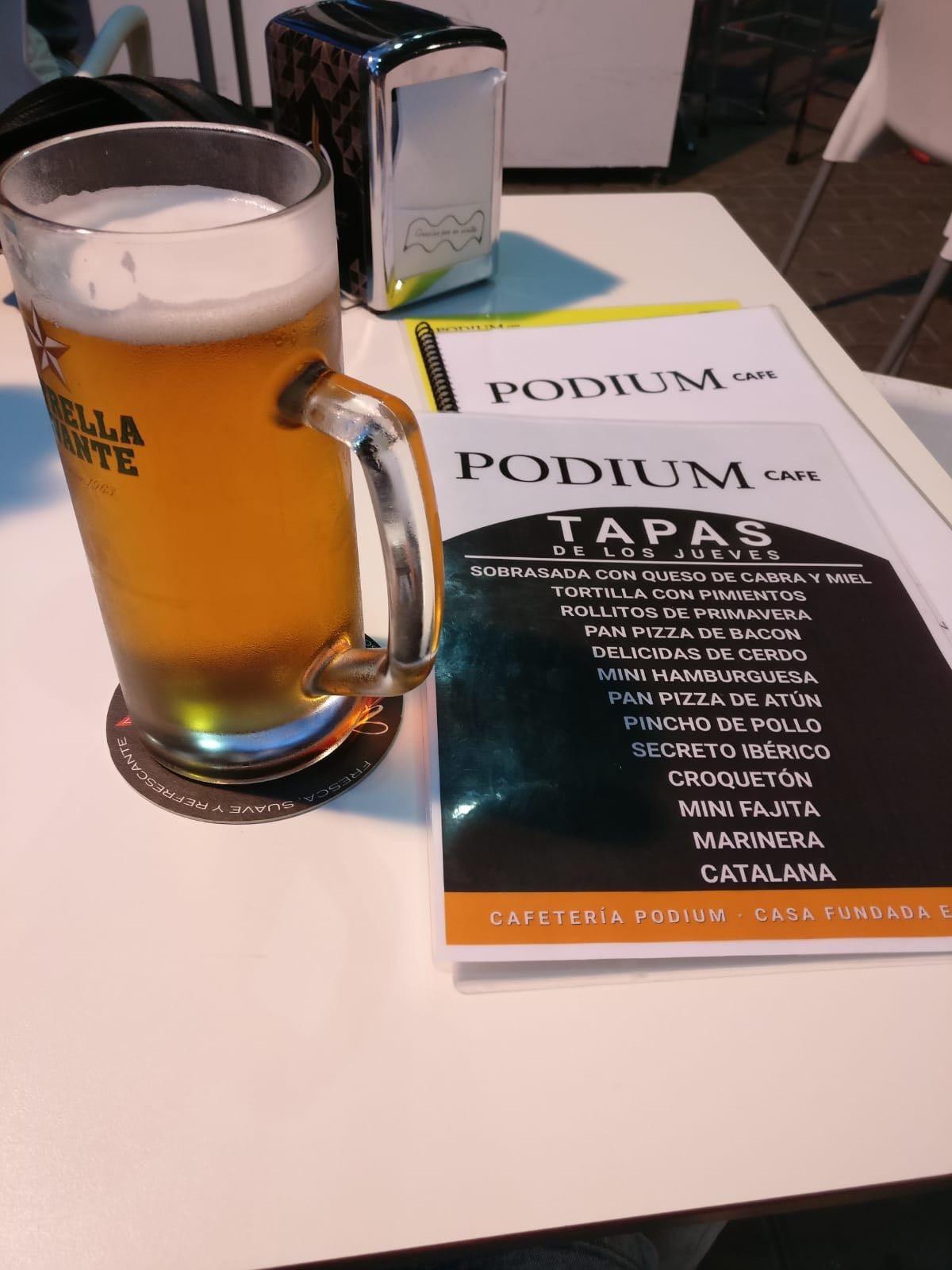 Cafetería Podium: más que una cafetería