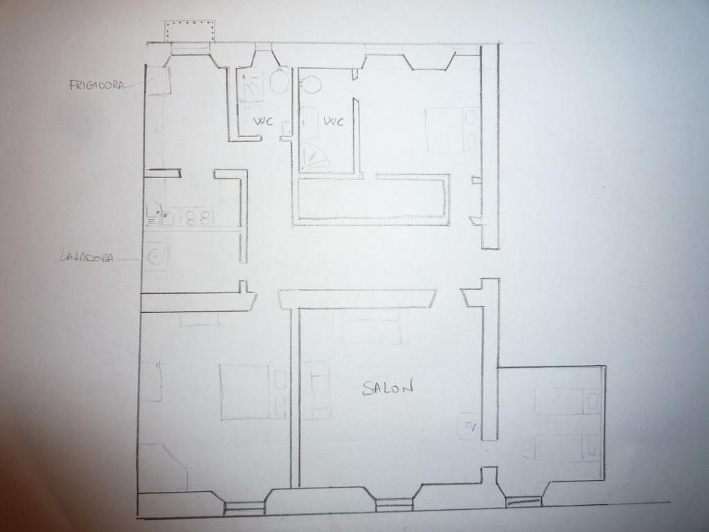 Camera doppia con cabina armadio e bagno privato vicino - Bagno e cabina armadio ...