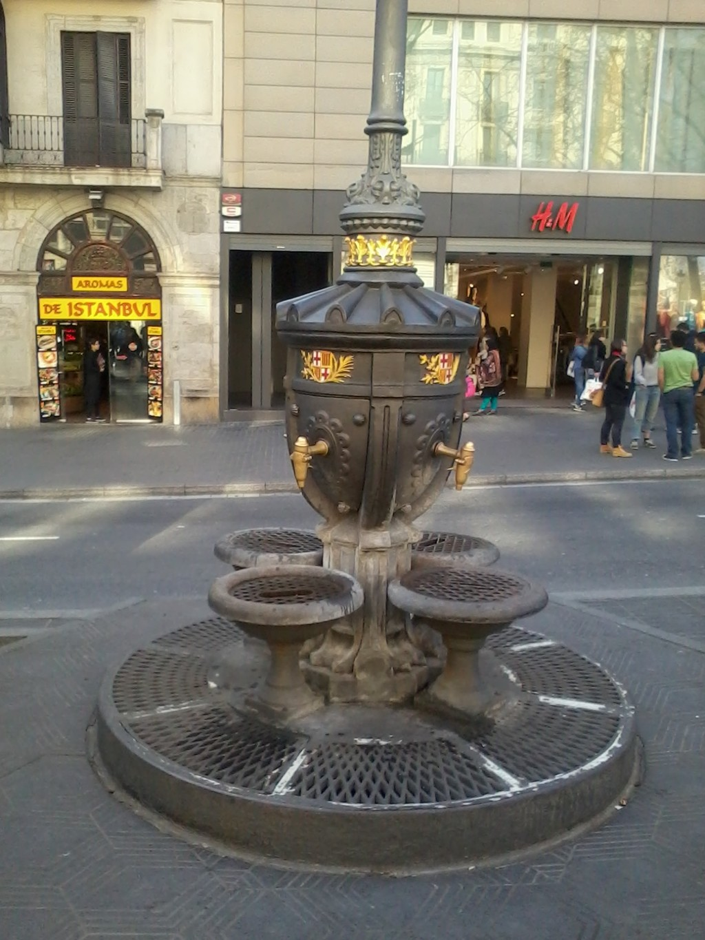 Canaletas Fountain
