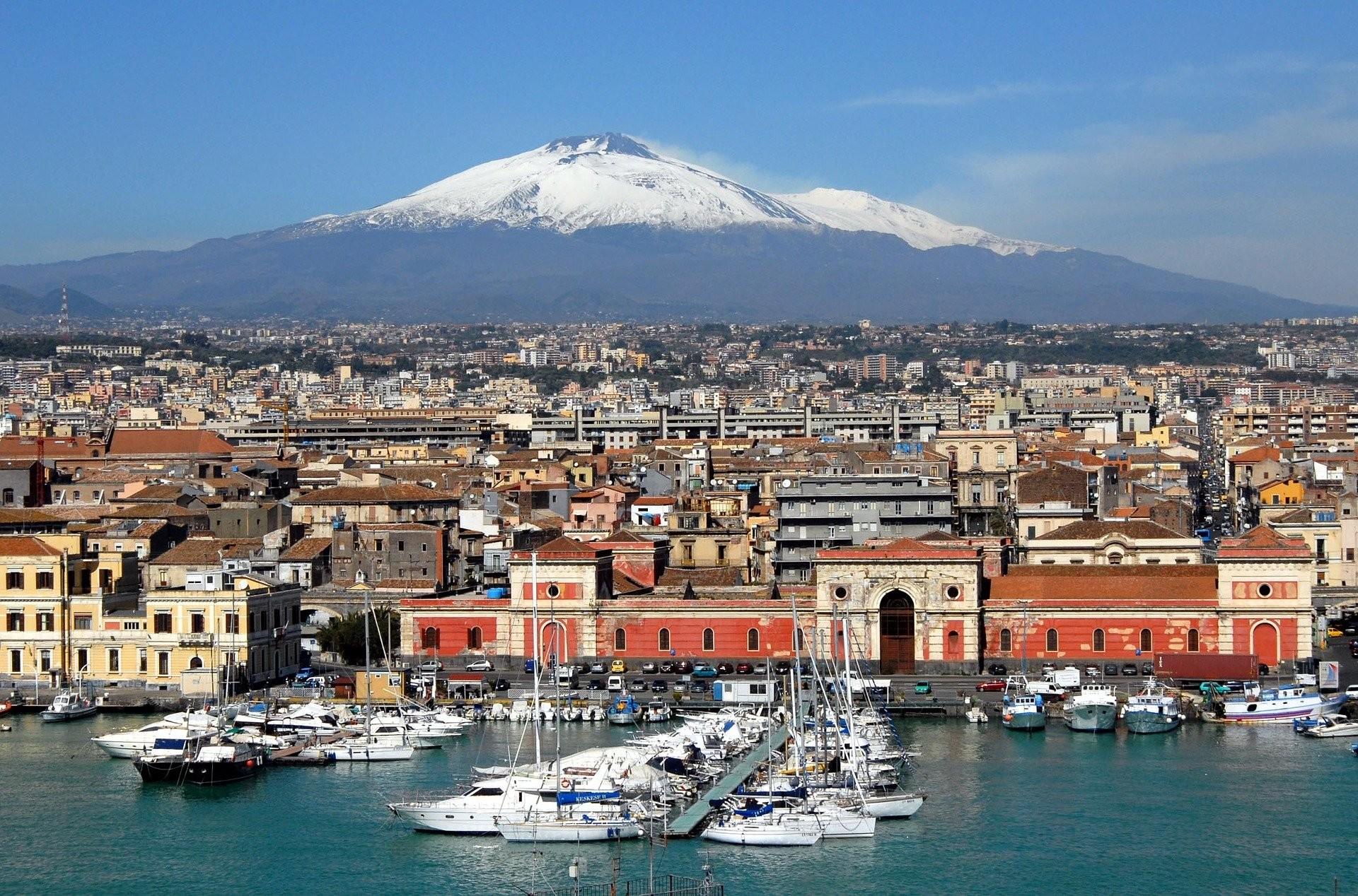 Catania en verano