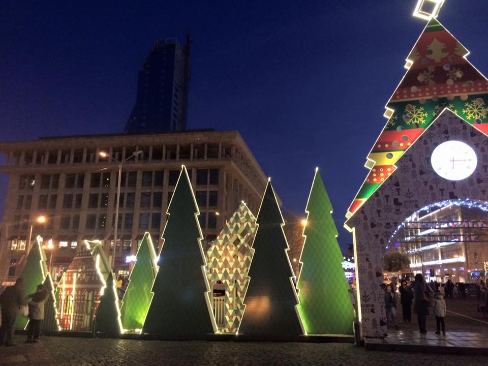 Celebrando las Navidades en Georgia