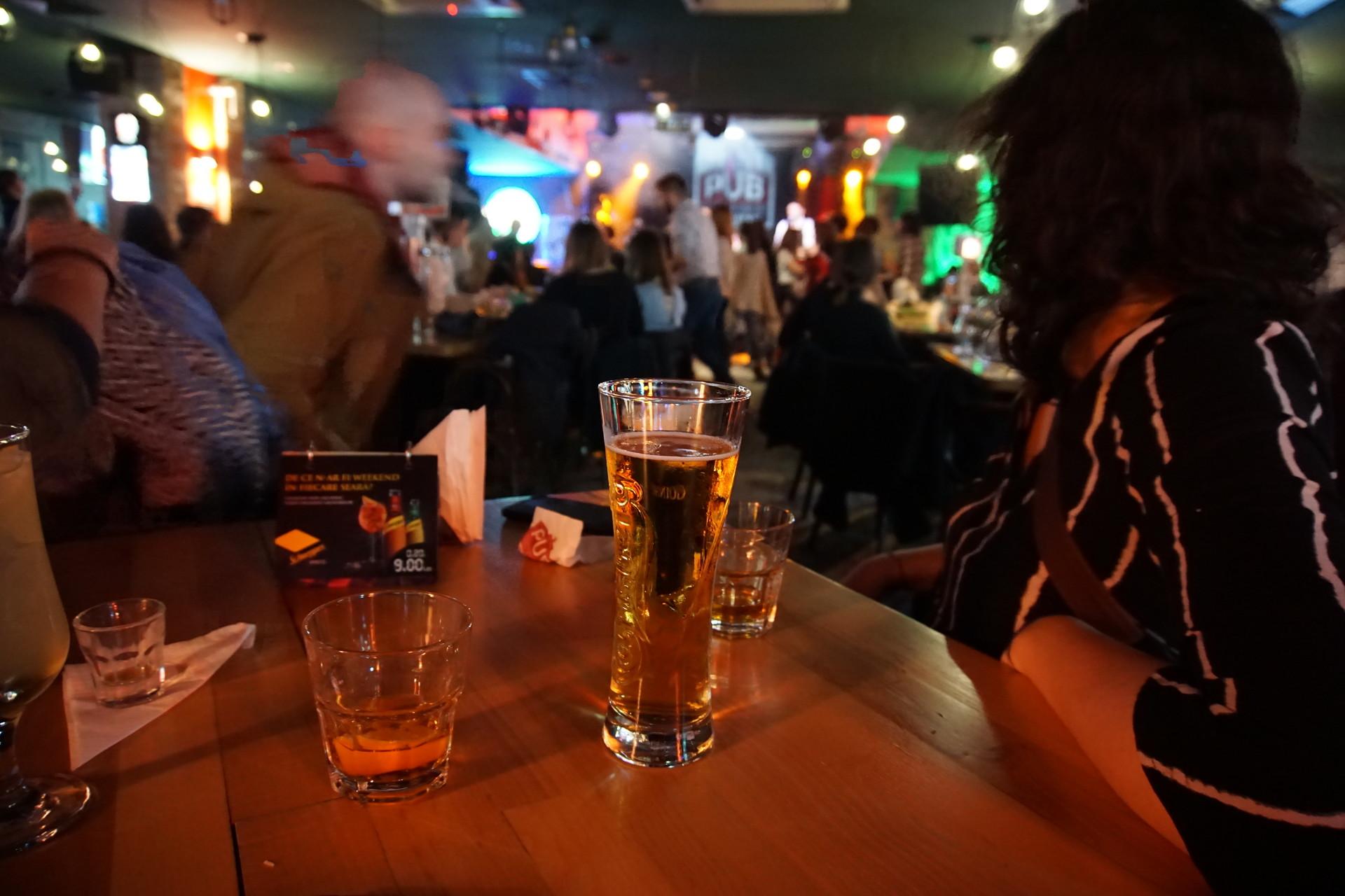 """Celebrating my birthday at """"The pub"""""""