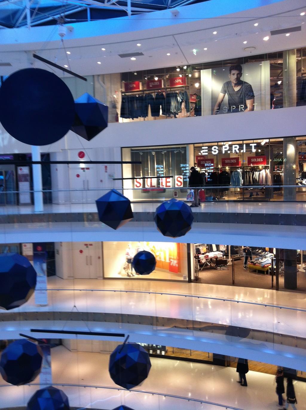 Centro Comercial Beaugrenelle distrito 15