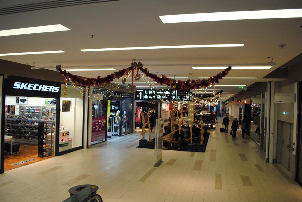 Centro comercial en Estrasburgo