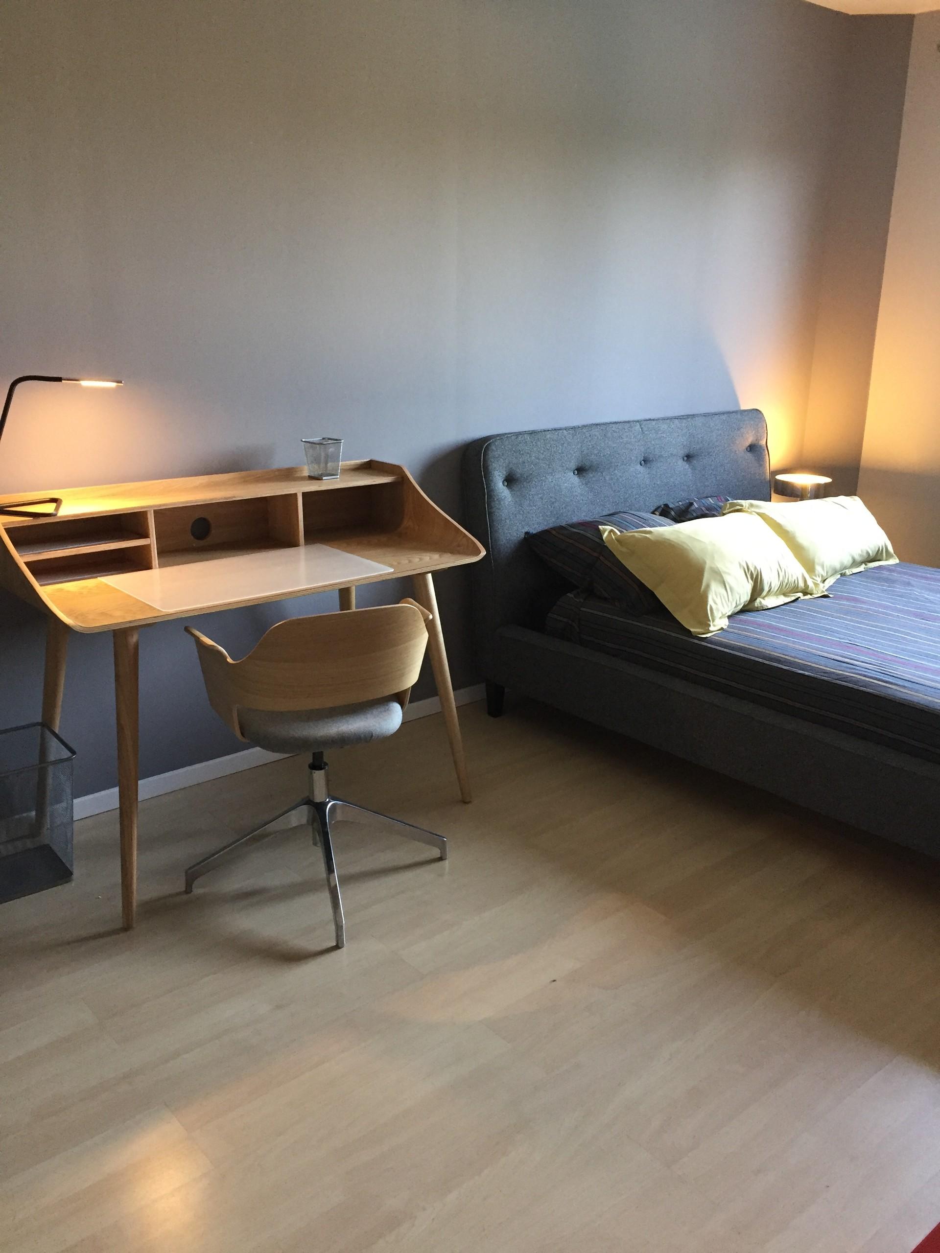 Chambre spacieuse | Résidences universitaires Lyon