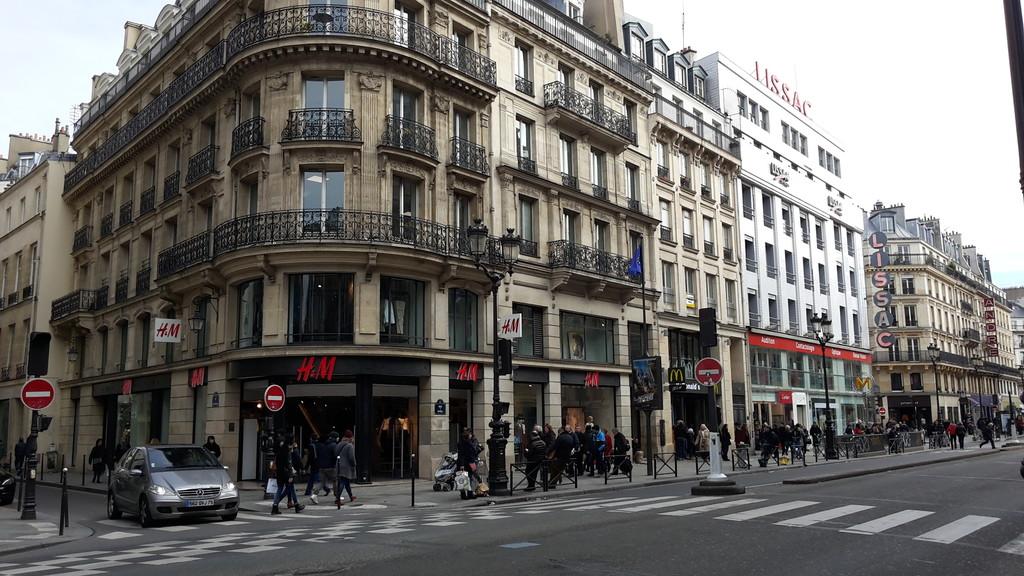 Châtelet, Les Halles & I nie tylko Paryż