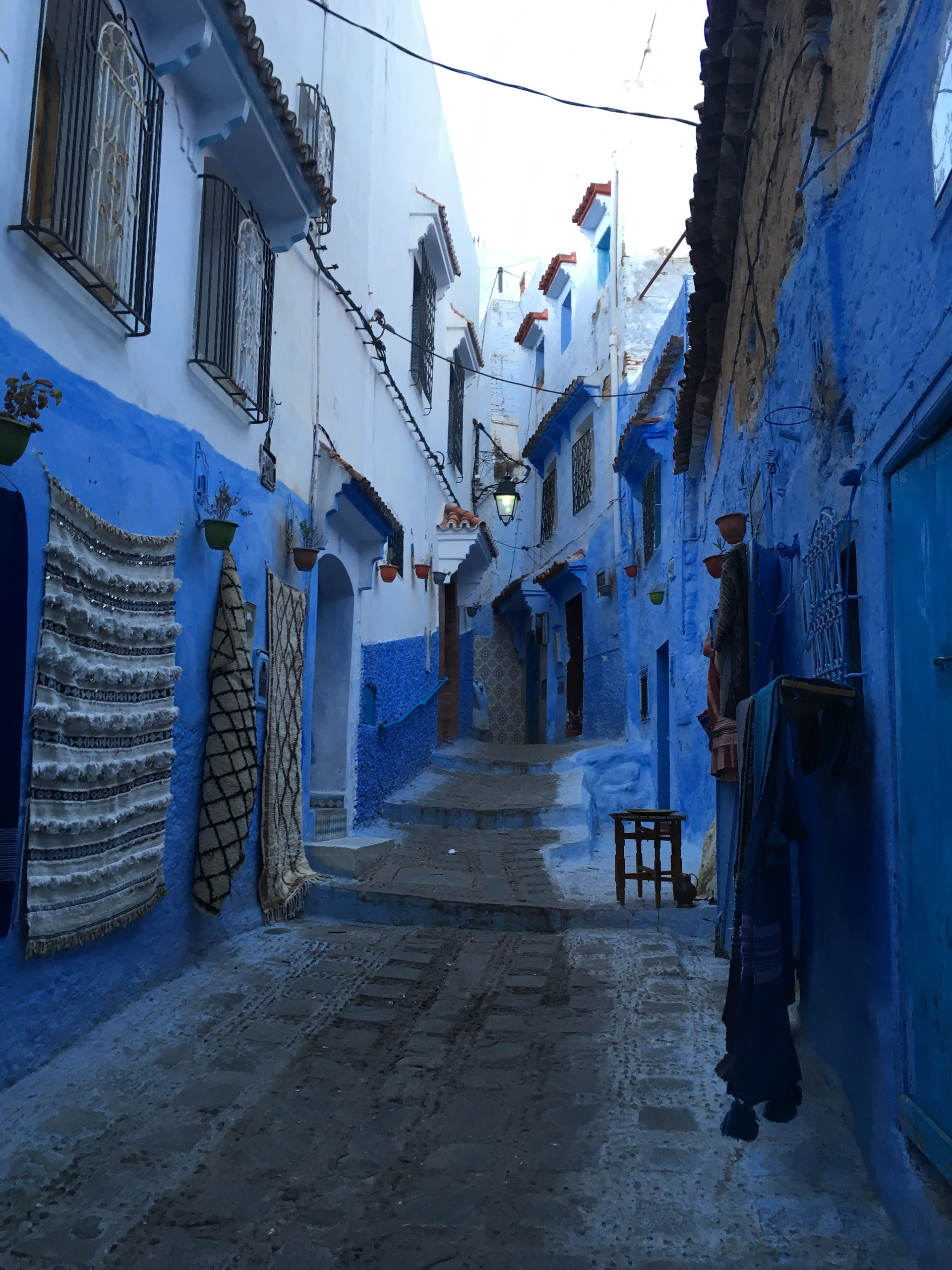 Chefchaouen marokańskie niebieskie miasto