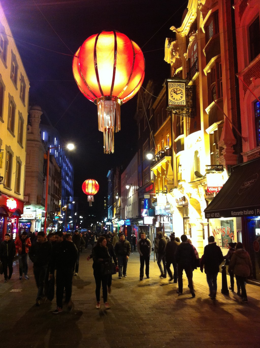 Chinatown and the best fish and chips London