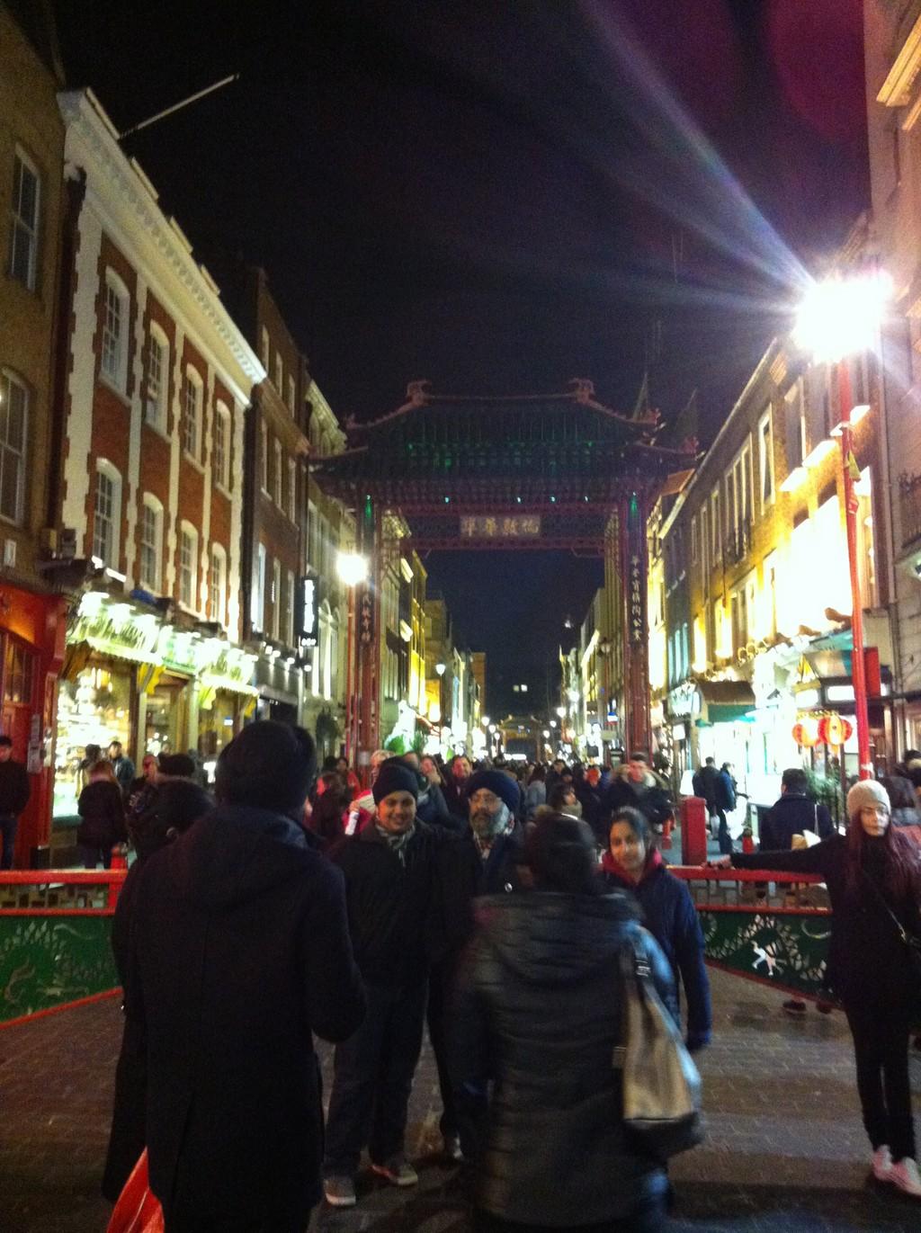 Chinatown und die besten Fische und Chips London
