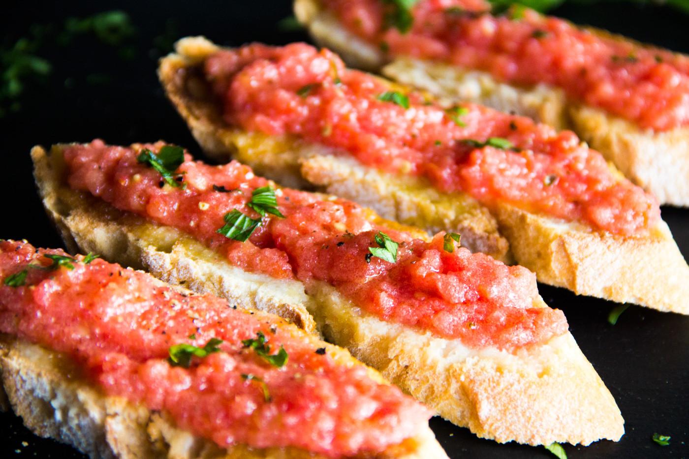 Cocina española #2: Pan con Tomate   Recetas Erasmus