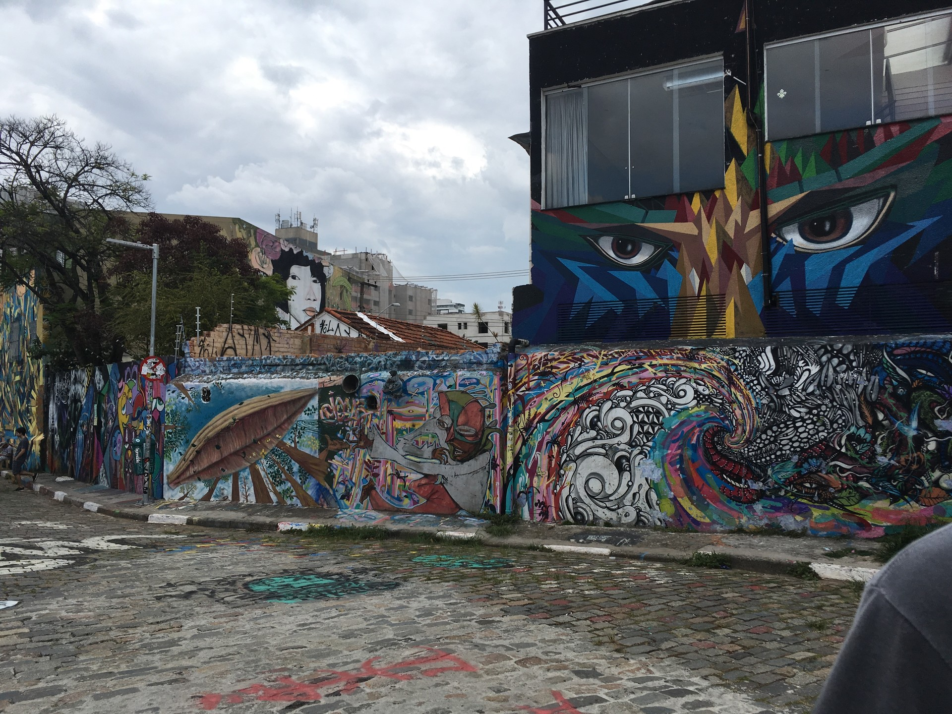Color in the big grey city