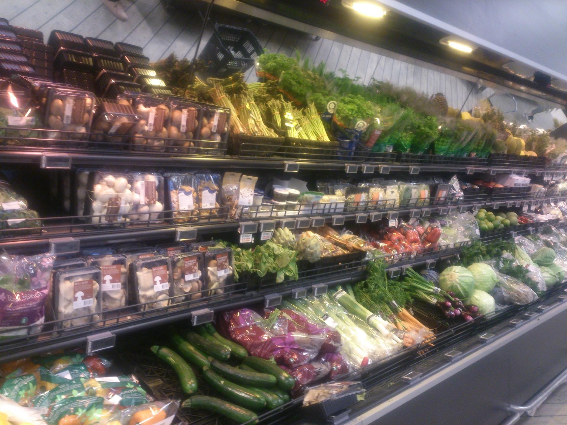 Compras de supermercado com orçamento poupança em Copenhaga