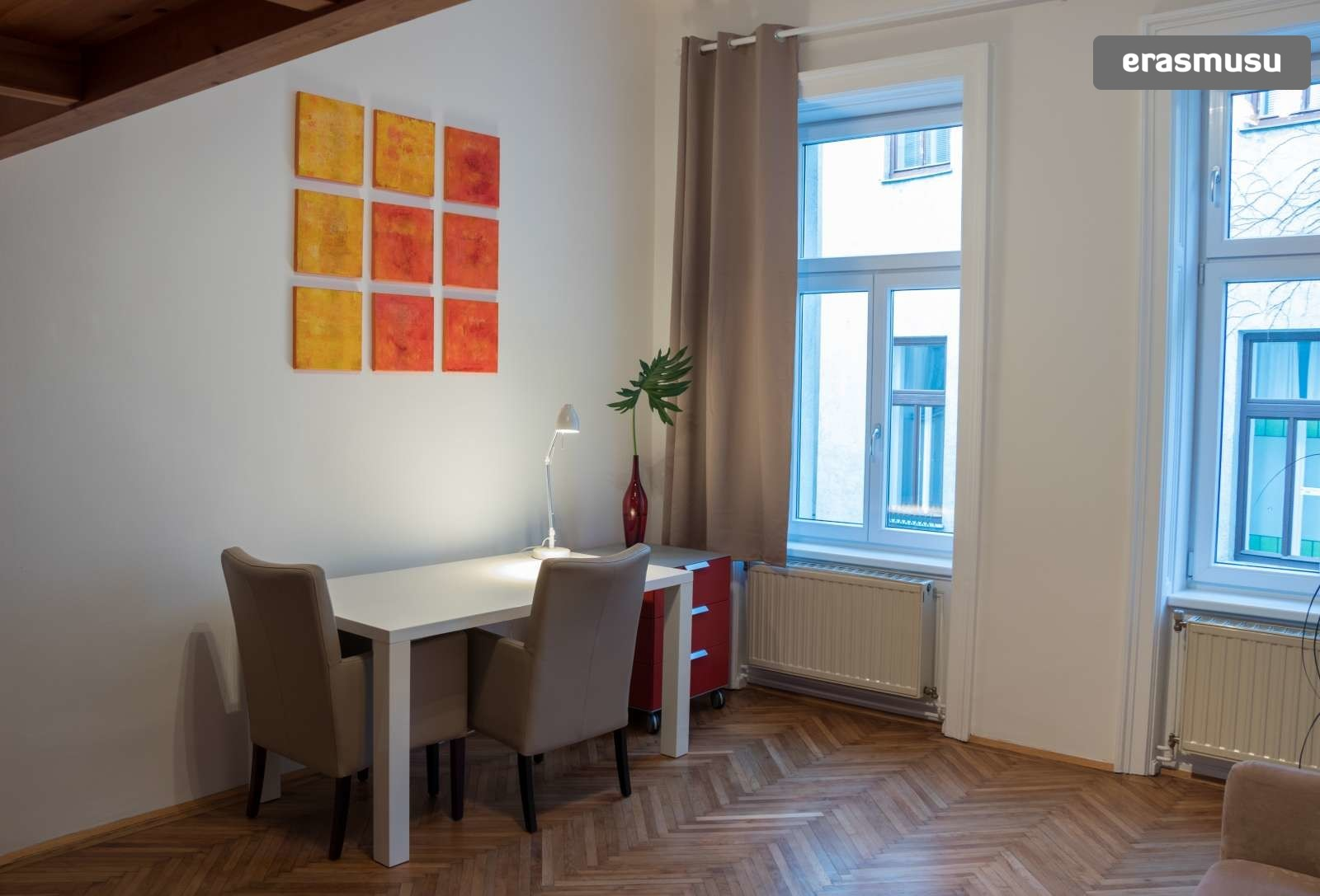 Cozy studio apartment with loft bed for rent in ...