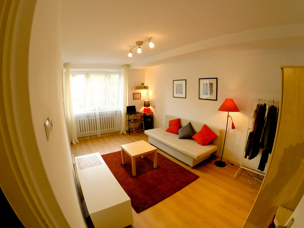 ... Sunny And Cheap Apartment In Katowice ...