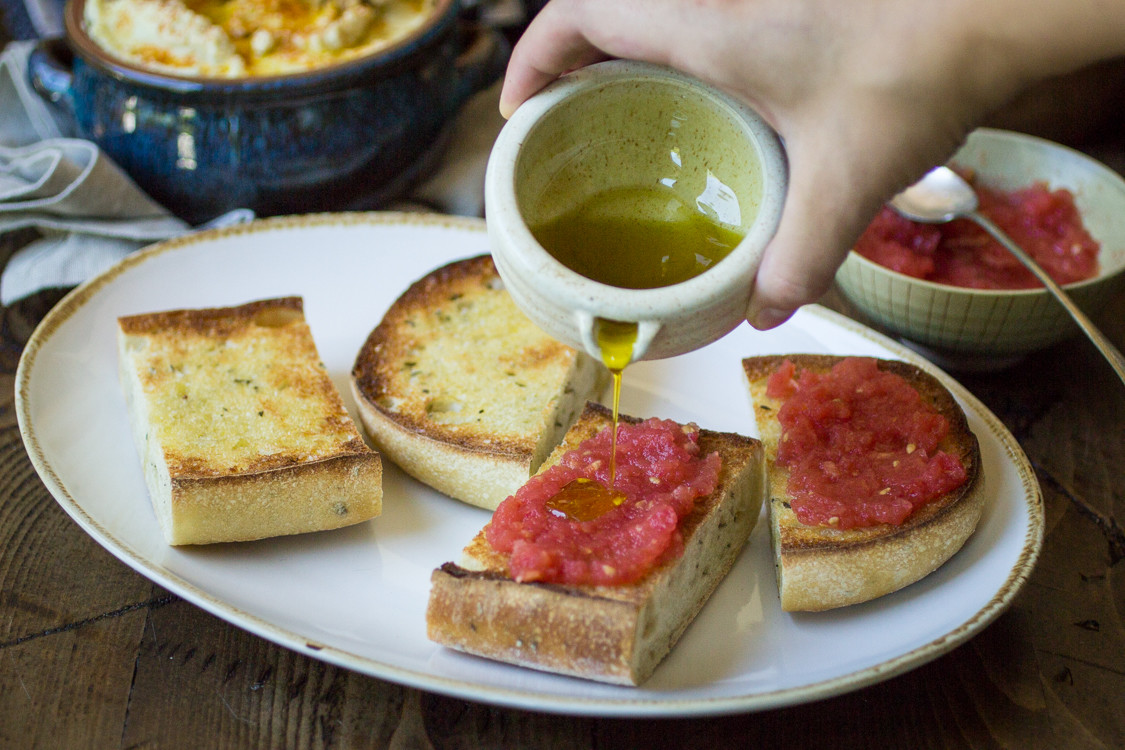 Cucina spagnola 2 pan con tomate ricette erasmus for Cucina spagnola