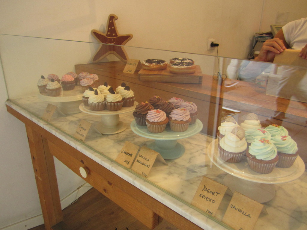 Cupcake heaven at Cup & Cake in Barcelona