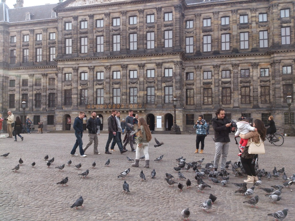 Dam Square - historical place
