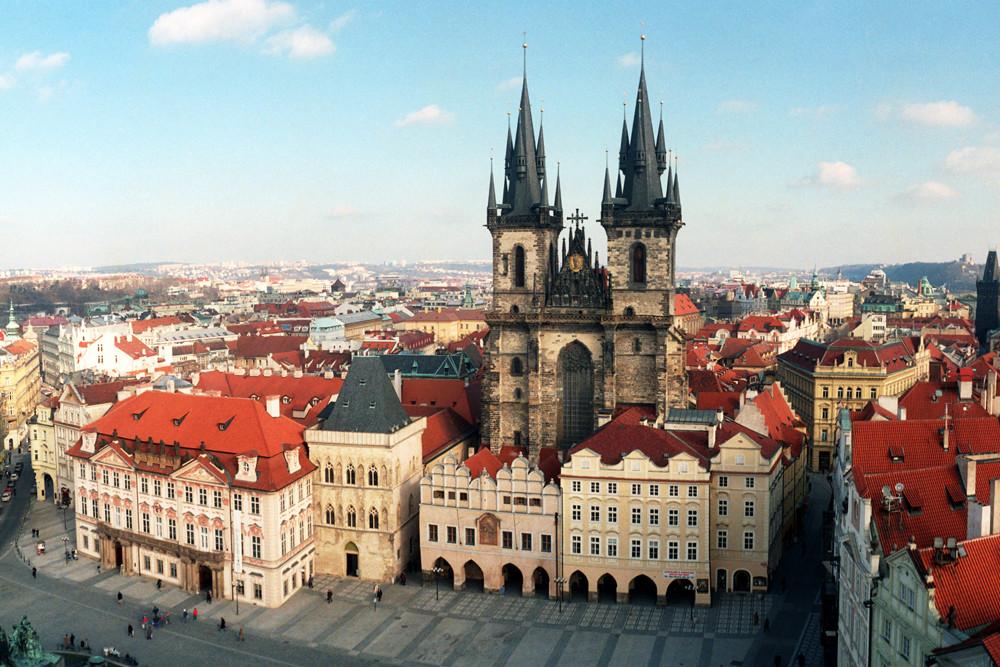Daniel'den Çek Cumhuriyeti, Prag Deneyimi