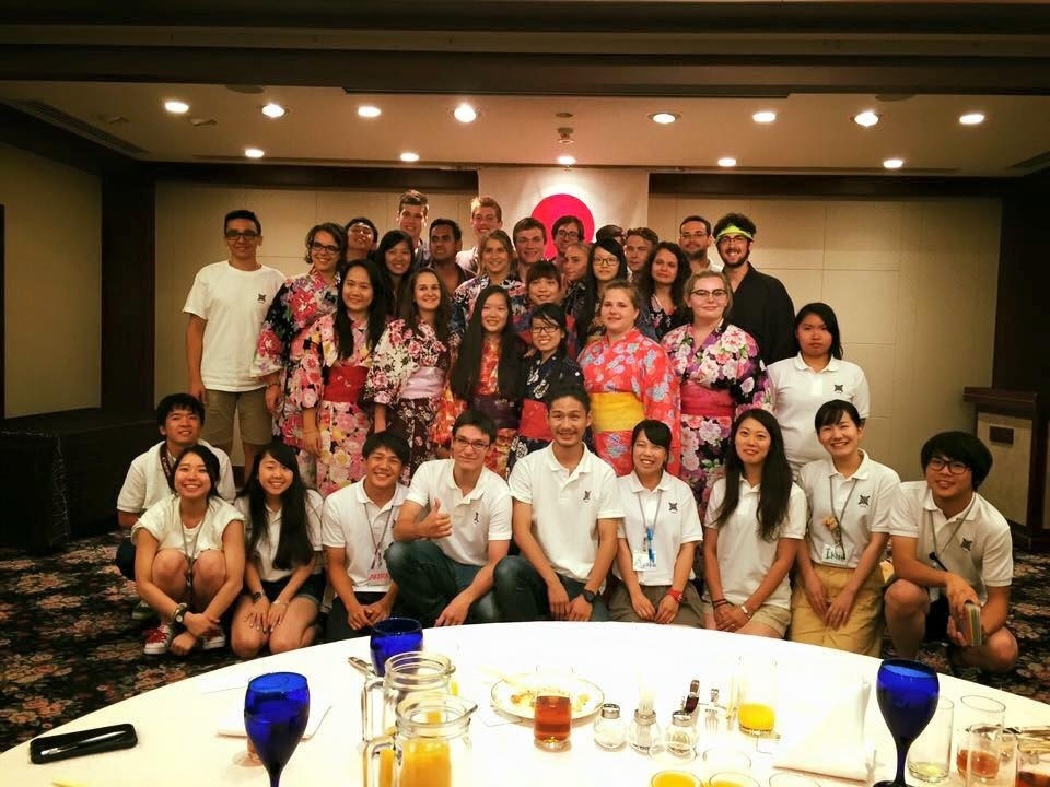 Day 26 Goodbye Osaka. Farewell party.Back to Gobo.