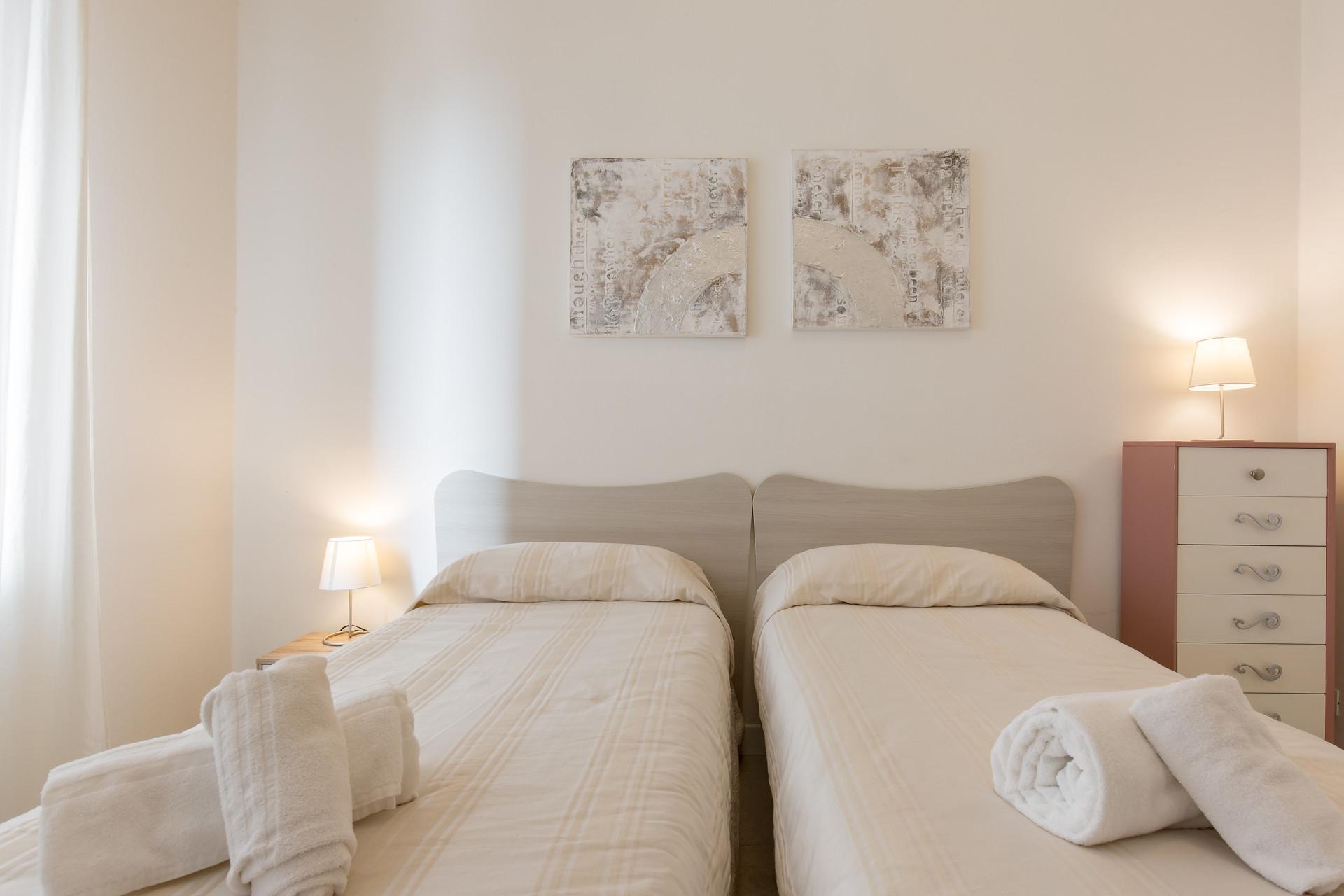 trilocale in borgo roma vicinanze centro 2 camere da letto 1 bagno 1 cucina