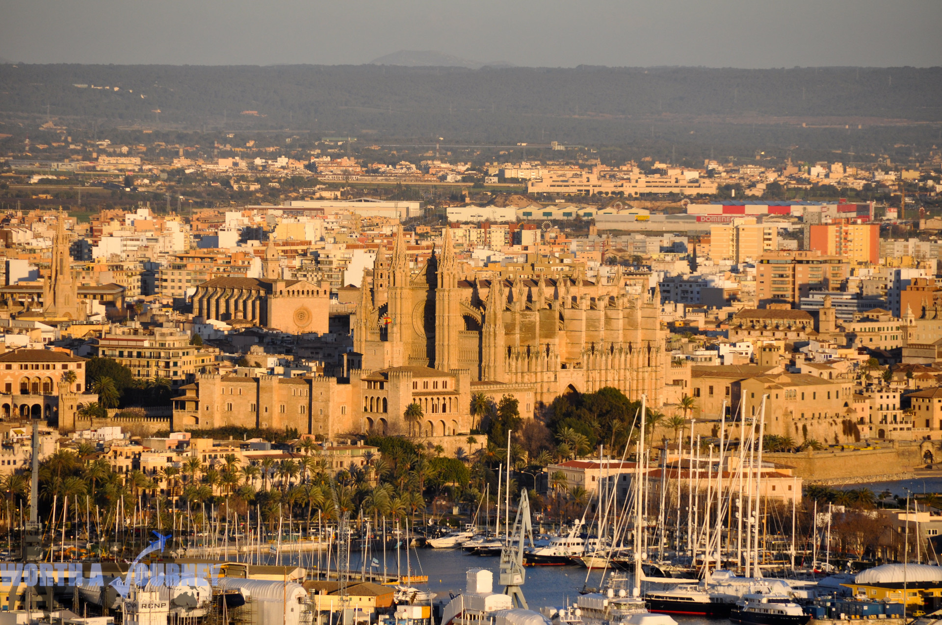 De belevenis in Palma de Mallorca, Spanje (van Hugo)
