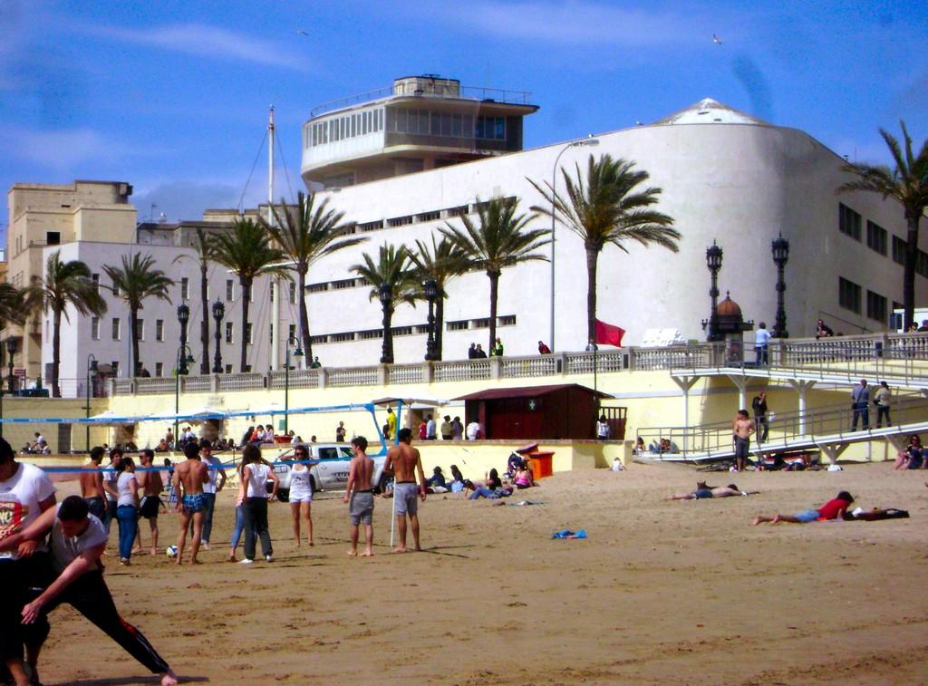 De playita por Cádiz