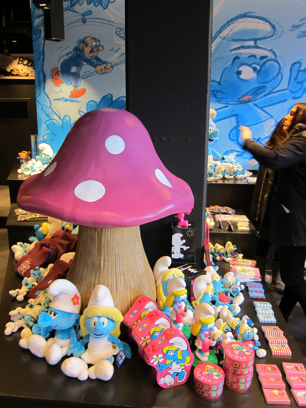 Delve deep into the blue world of the 'Smurfs'