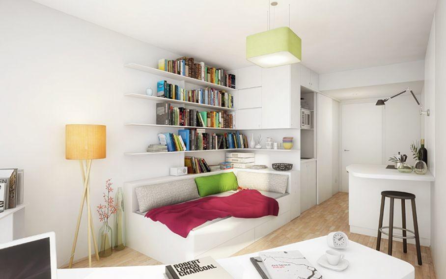 Departamento en una residencia para estudiantes amplio for Renta de departamentos para estudiantes