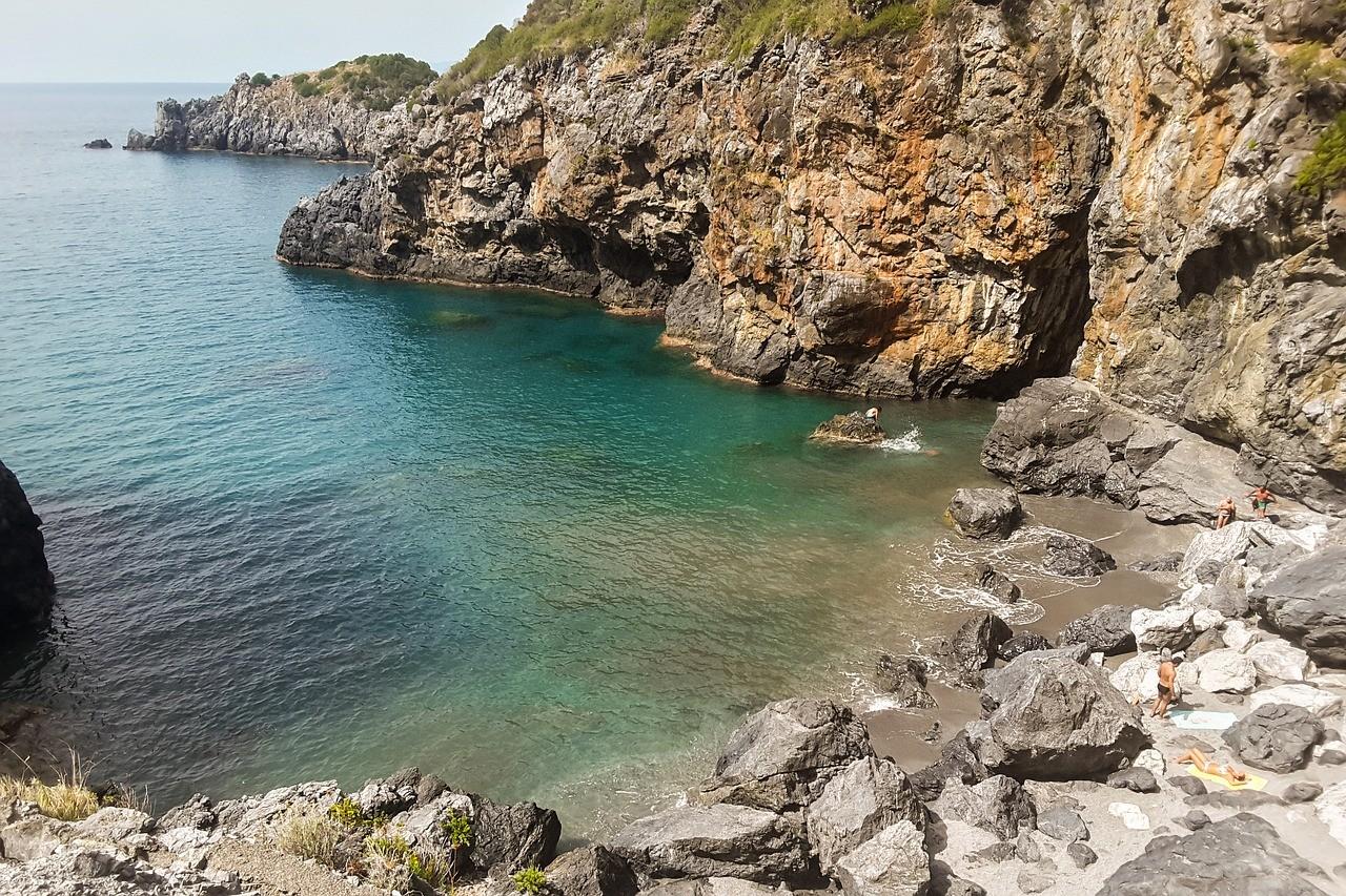Día 2: ¡por fin el mar de San Nicola Arcella!