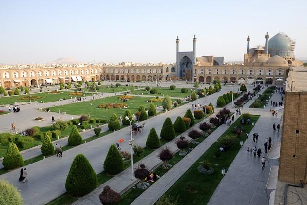 Diari di Isfahan (I): piazza Naghshe Jahan