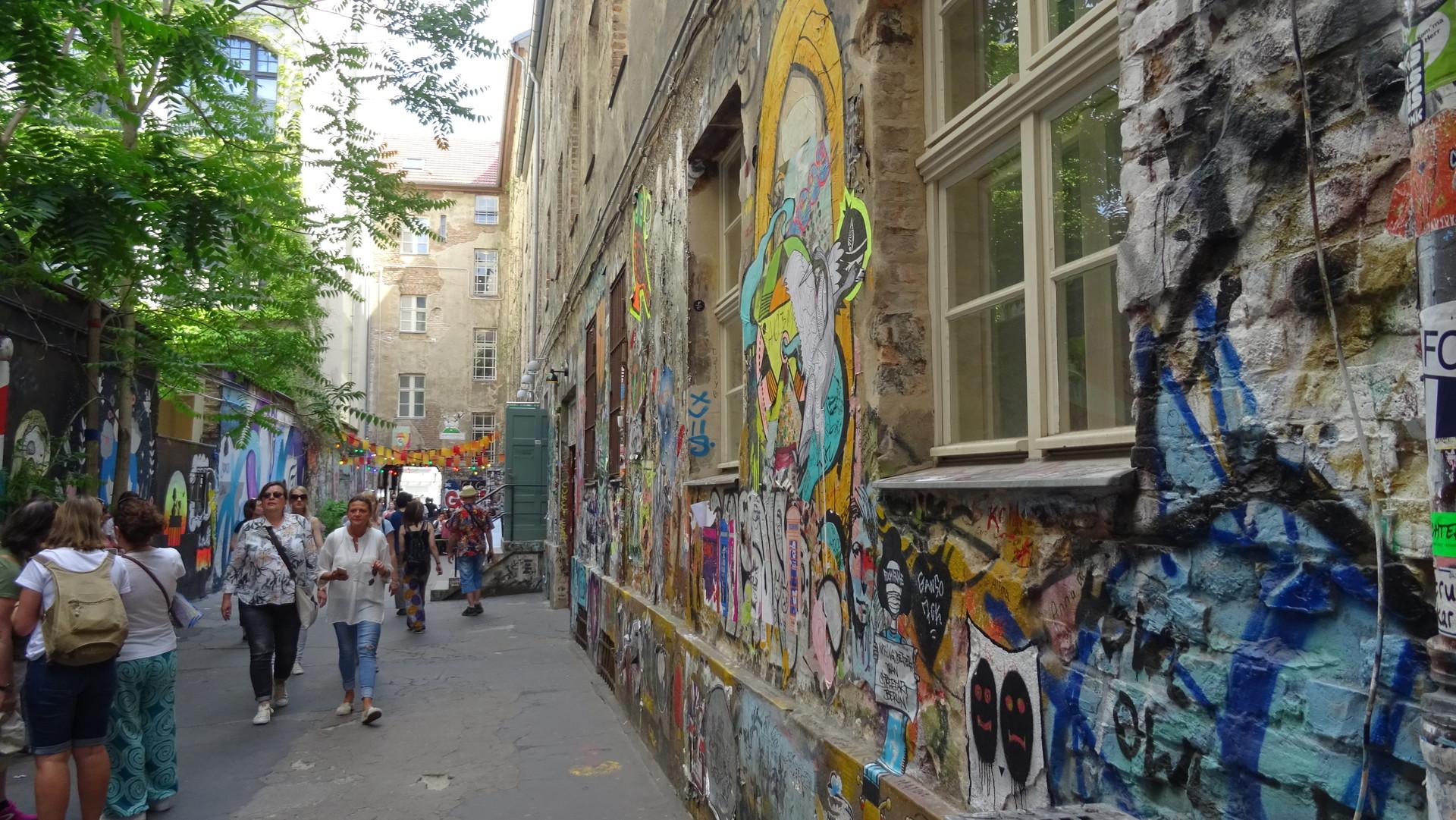 Discovering hidden treasures in Berlin...