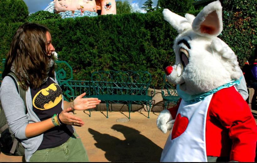 Disneyland Paris : comme une grande gamine