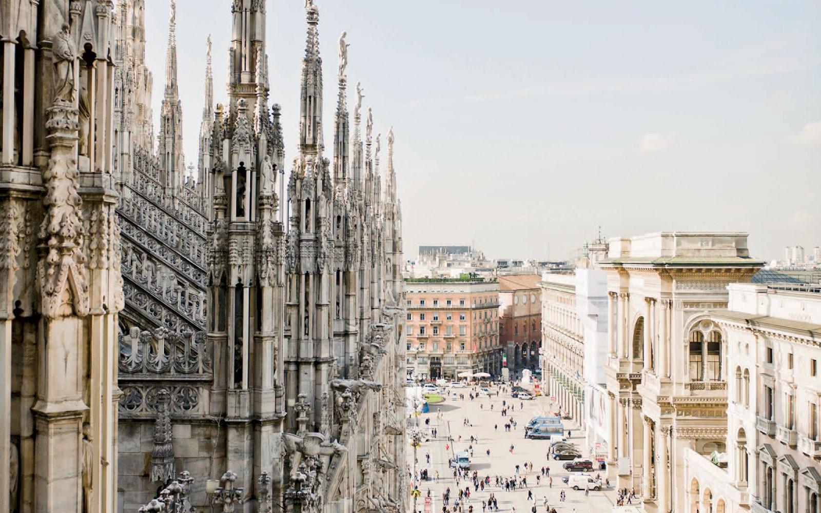Doświadczenia w Mediolanie, Włochy oczami Martiny