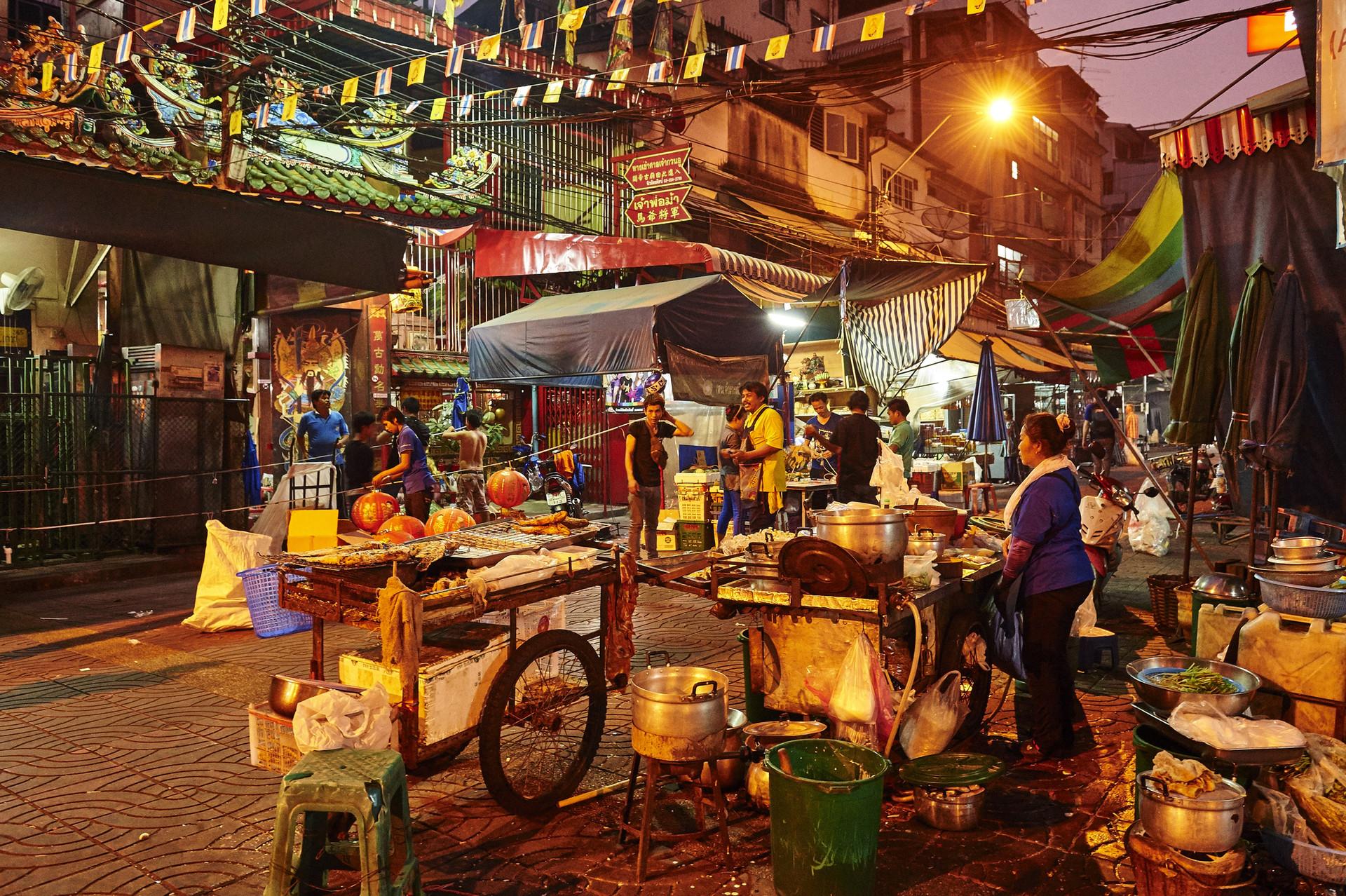 Doświadczenie w Bangkoku, Tajlandia według Kanoon