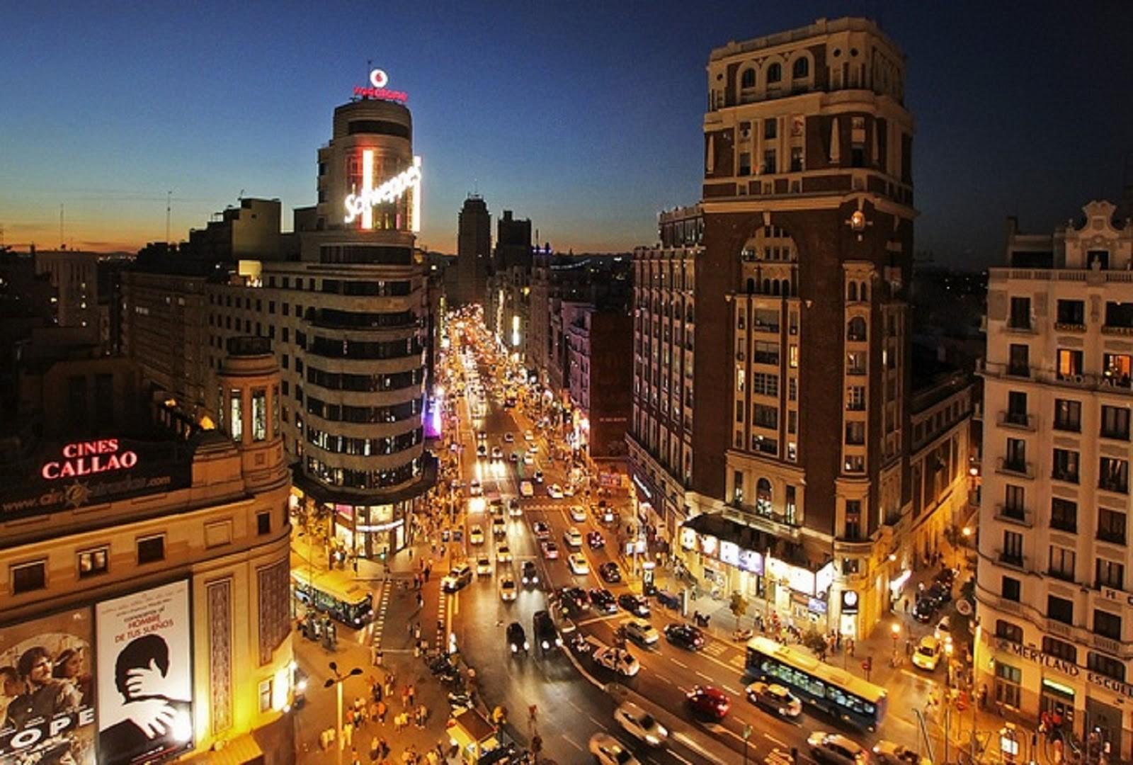 Doświadczenie w Madrycie, Hiszpania według Lidii