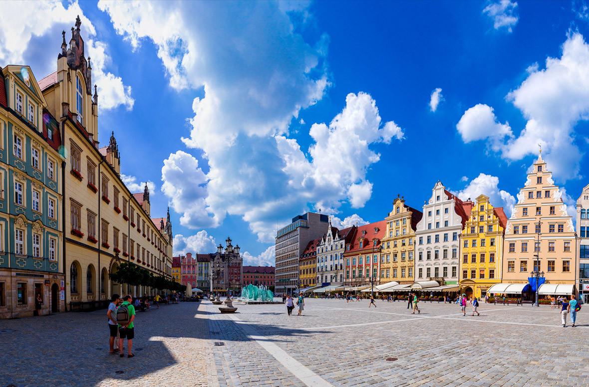 Doświadczenie we Wrocławiu, Polska, według Marine