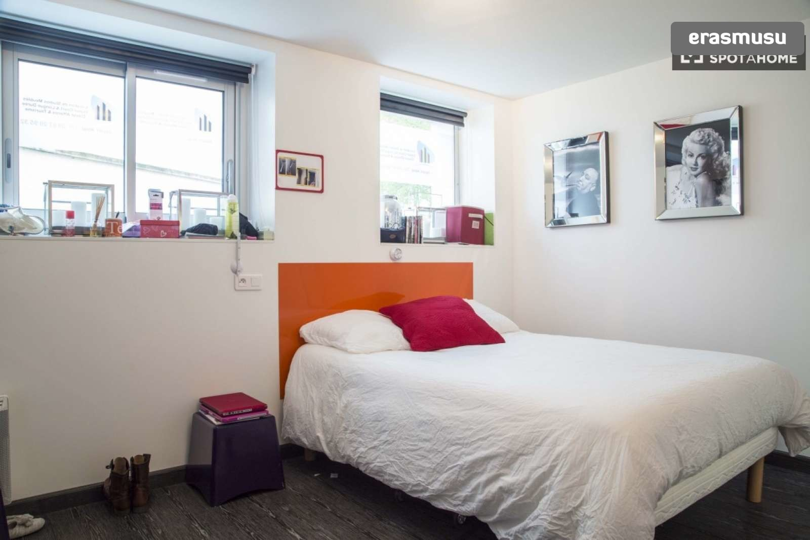 Double Bed In Luxury En Suite Rooms For Rent In A Residence Hall