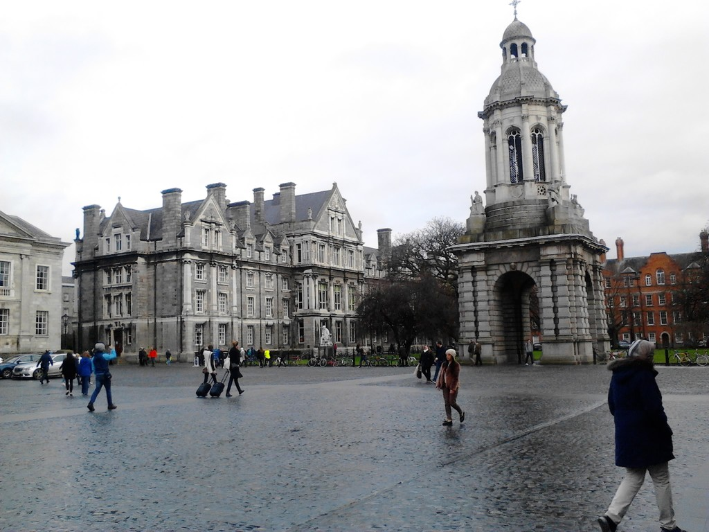 Dublin, Irlanda por um Português