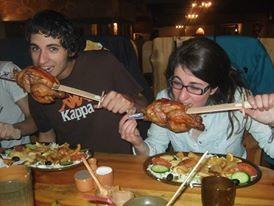 Eating like King Arthur or like a Milady.