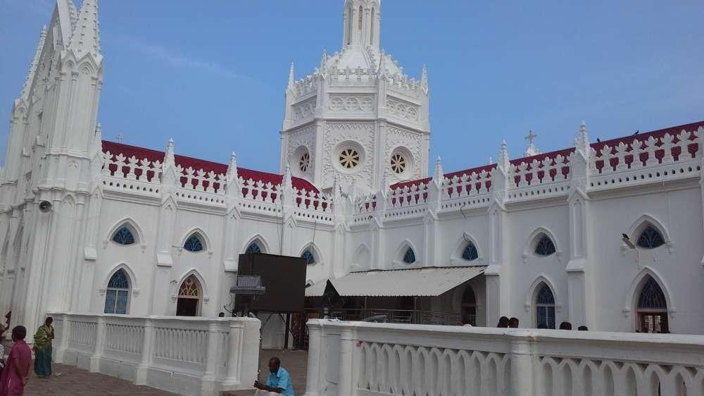 Ein Familienausflug nach Velankanni