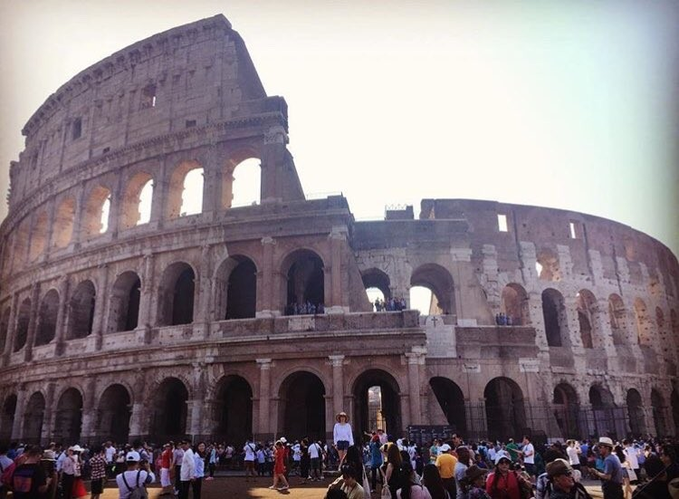 El Colosseo de Roma