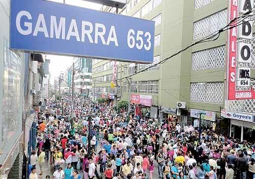 El emporio de Gamarra | Blog Erasmus Perú