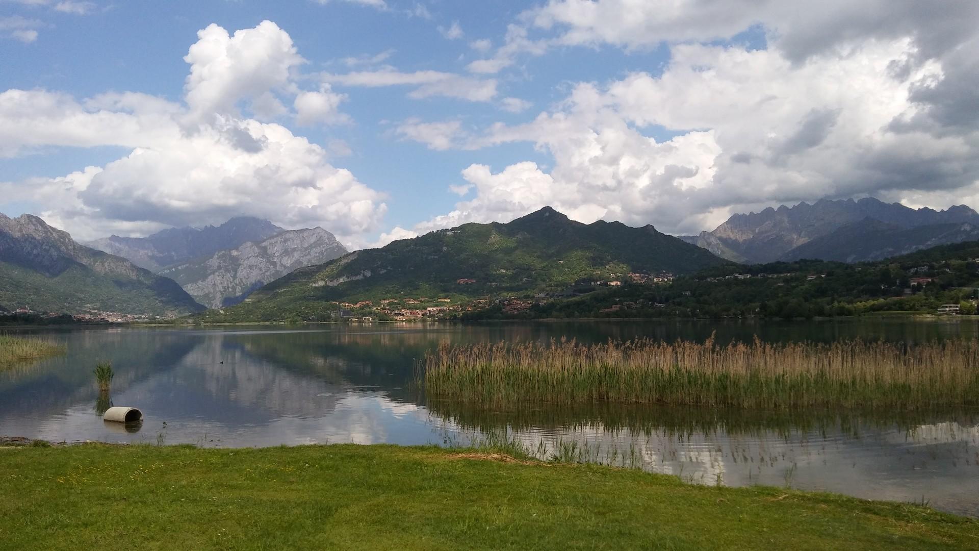 El lago de Annone