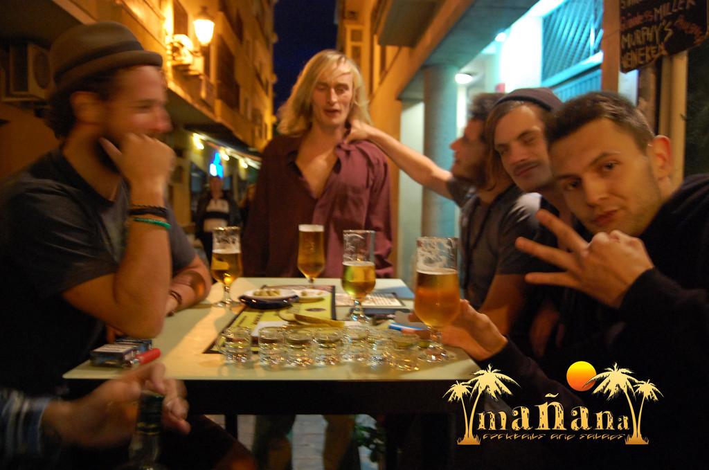 El mejor bar Erasmus en Málaga