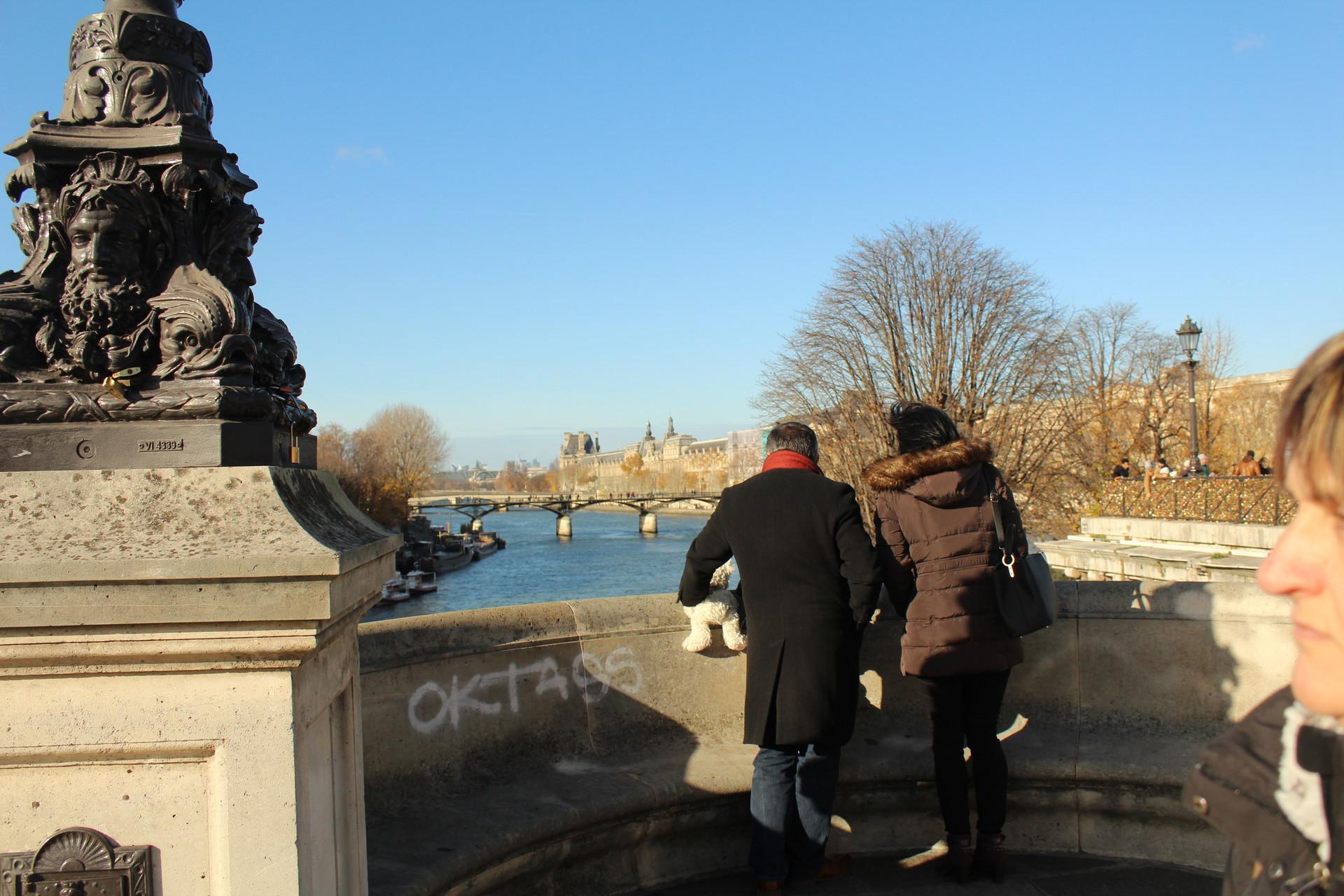 El nueve Pont des Arts