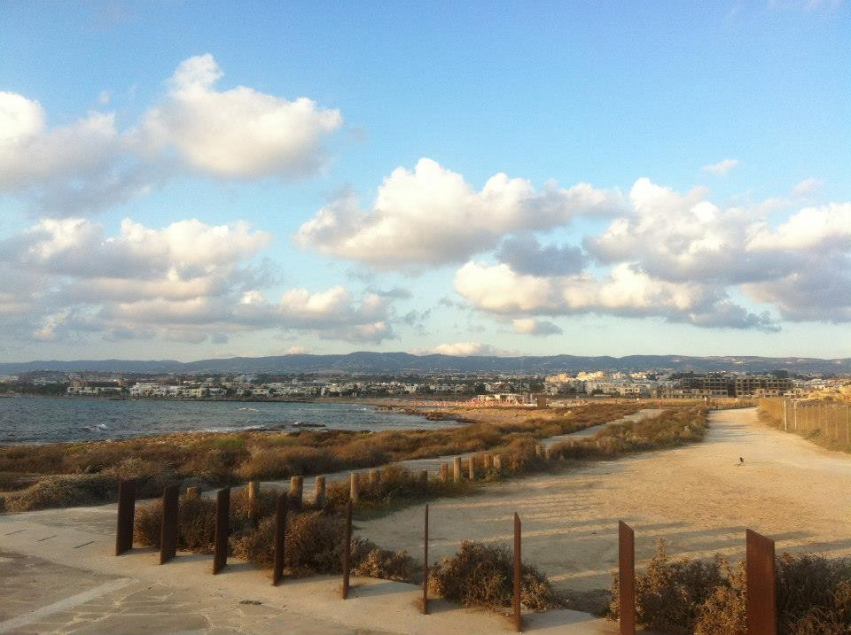 El paseo marítimo de Pafos