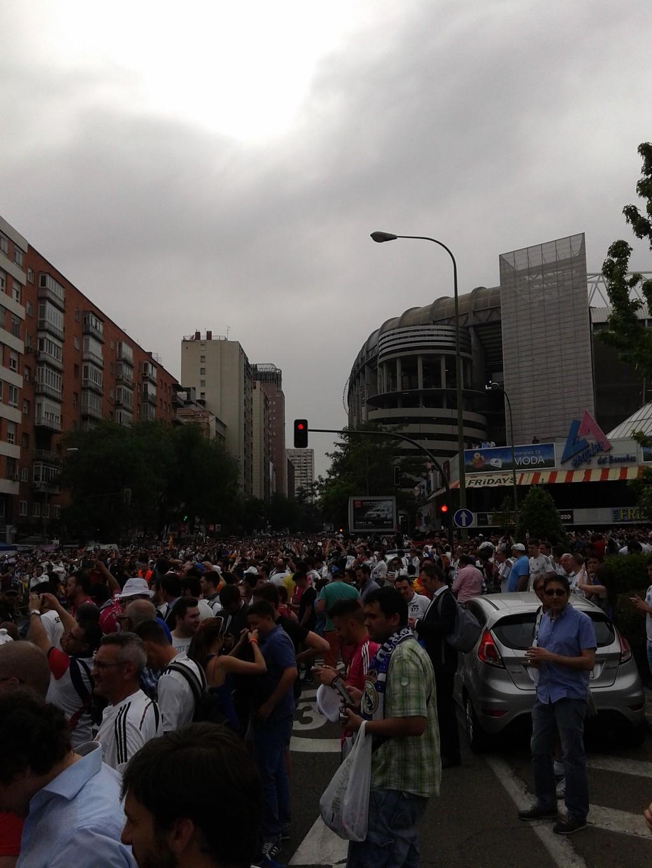 El santiago bernab u blog erasmus madrid espa a - Calle rafael salgado ...