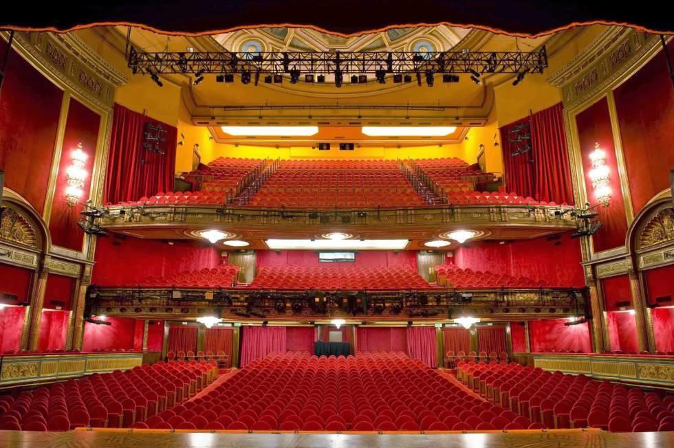 El teatro coliseum blog erasmus madrid espa a - Teatro coliseum madrid interior ...
