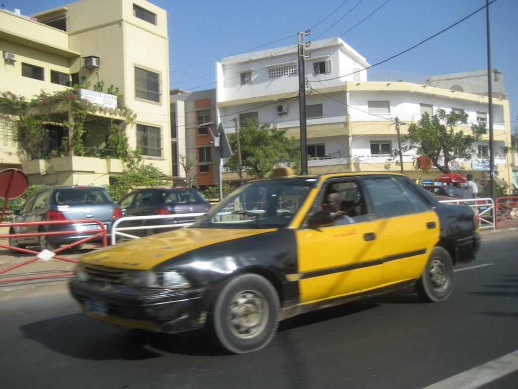 El transporte en Dakar